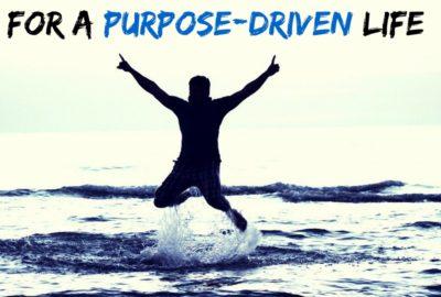 purpose-driven life