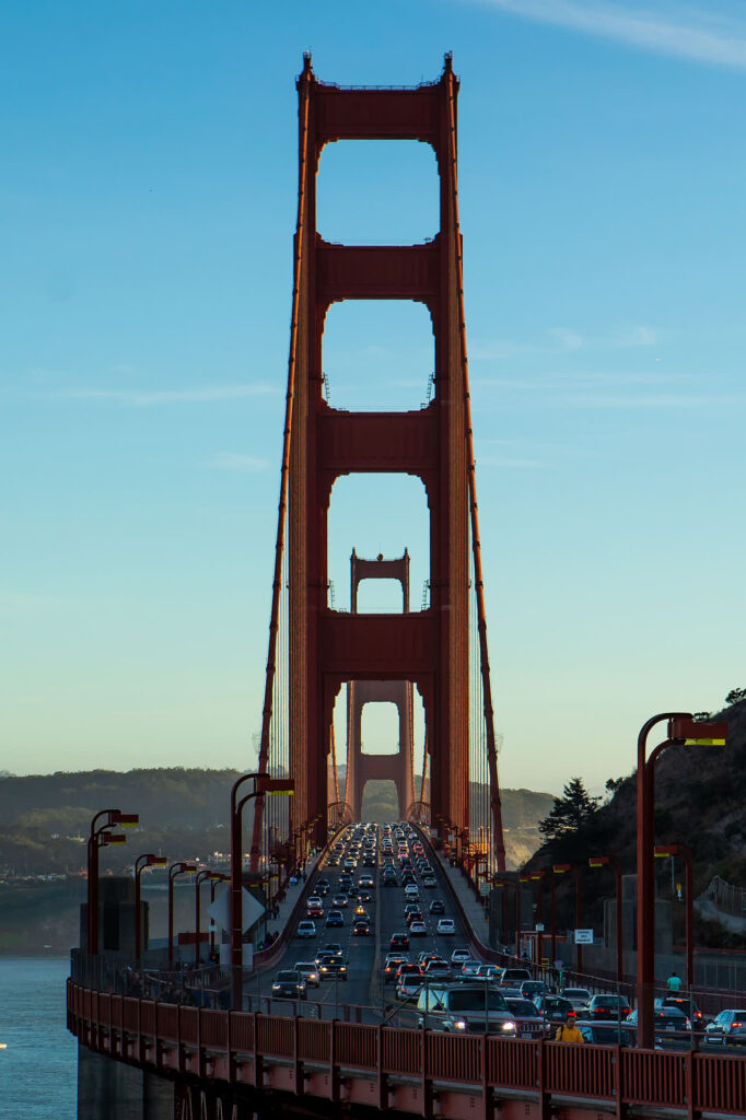 Travel Editorial of the Golden Gate Bridge in San Fransisco by Boston based photographer Greg Caparell