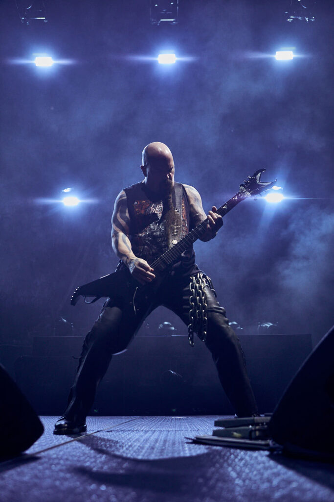 Concert Editorial of slayer by Boston based photographer Greg Caparell