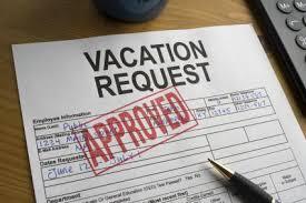 Vacation Form Photo