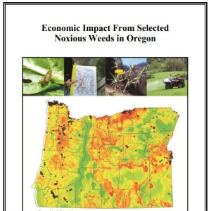 Economic Impact From Selected Noxious Weeds