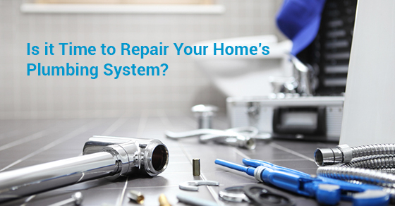 Is it Time to Repair Your Home's Plumbing System?