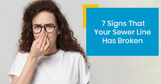 7 Signs That Your Sewer Line Has Broken