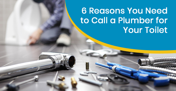 Reasons to call a plumber for your toilet