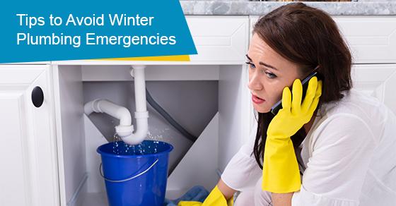 Tips to avoid winter plumbing emergencies