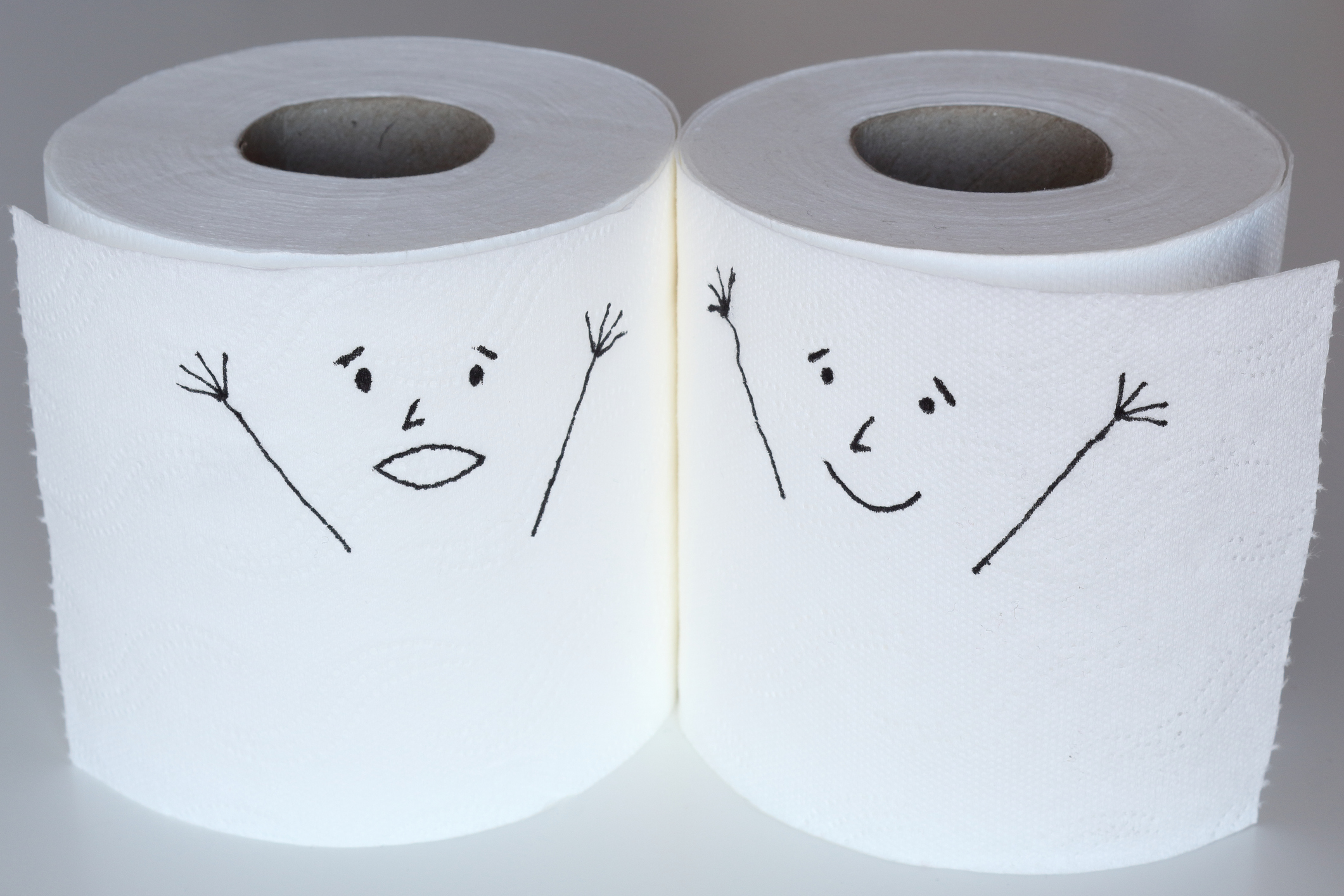 The great debate: should toilet paper be over or under?