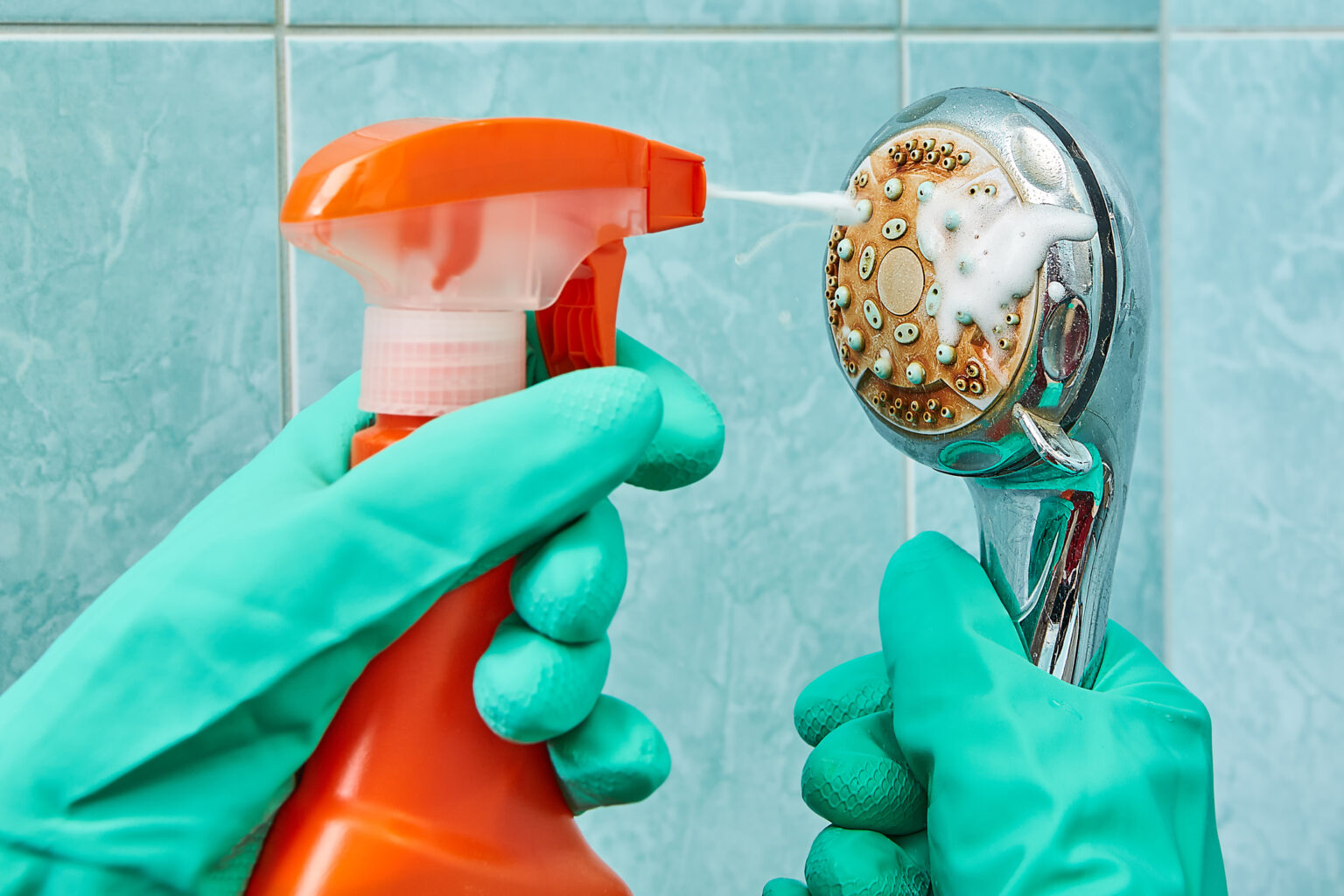 A heads up about creating an even cleaner shower