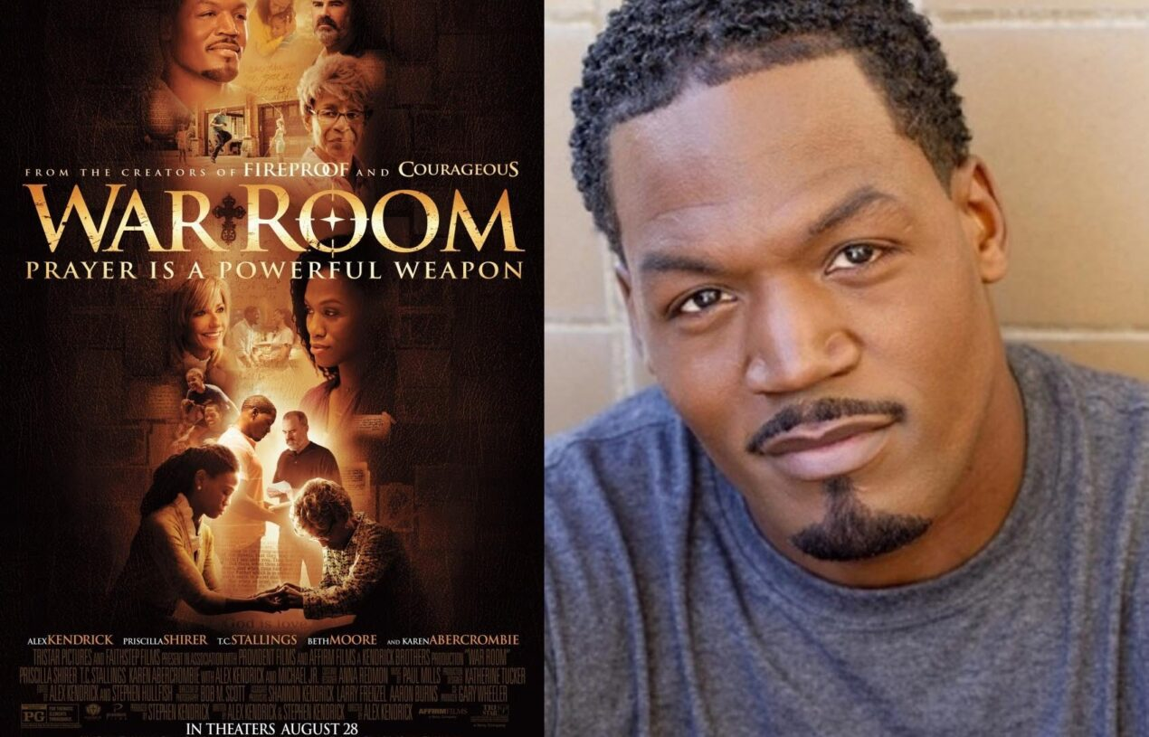 """Interview with Star of """"War Room"""" T.C.Stallings"""