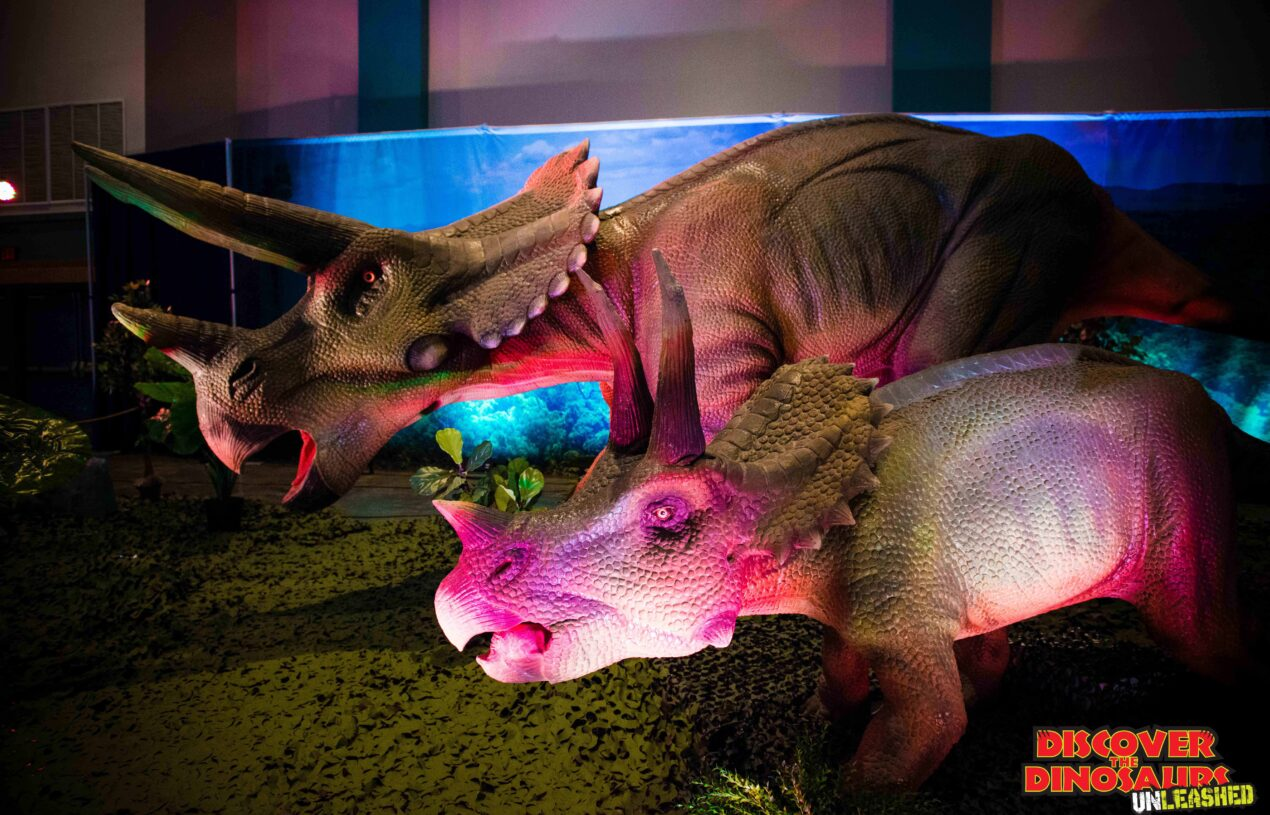 Family 4 pack Dinosaur Unleashed ticket giveaway