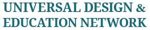 Universal Design & Education Network Logo
