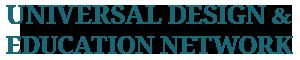 Universal Design & Education Network Logo