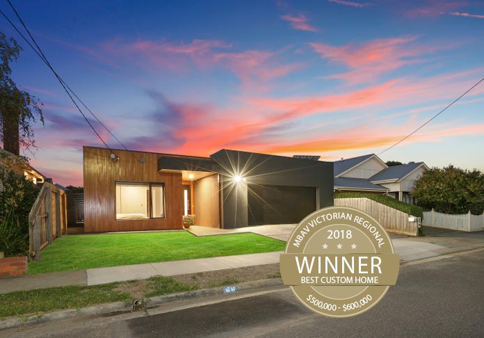 Signature Homes Geelong winners of Master Builders Association 2018 Regional Custom Built Home $500,000 – $600,000