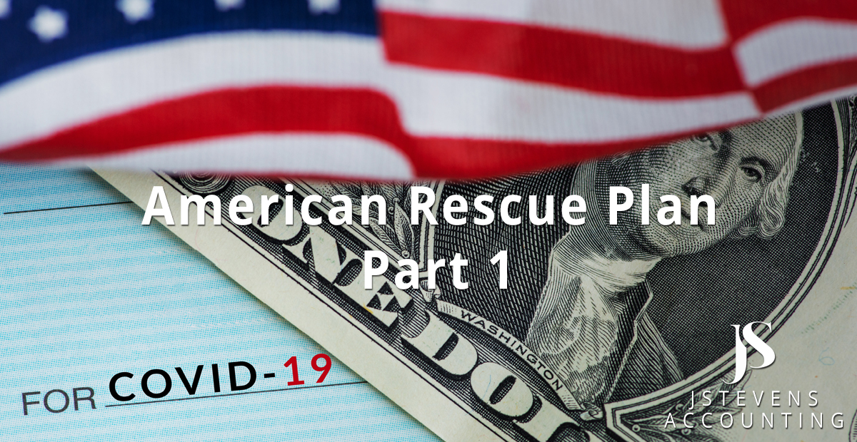 The American Rescue Plan – Part 1-1