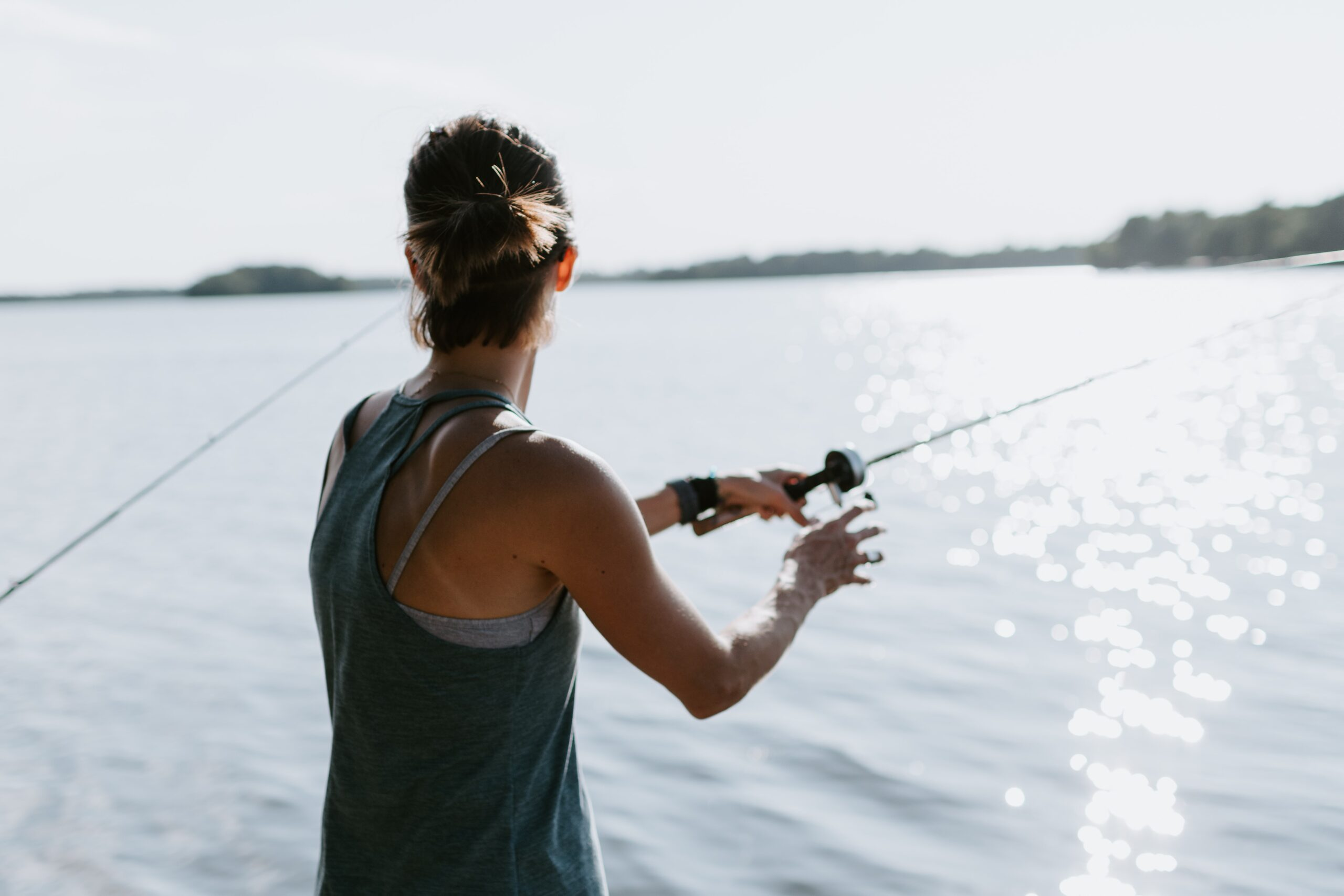 landpass woman anglers in canada