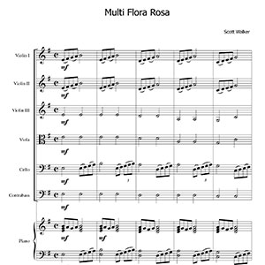 Multi Flora Rosa score sample thumb