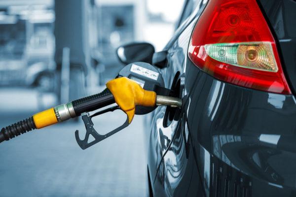60058286 - car refueling on a petrol station closeup