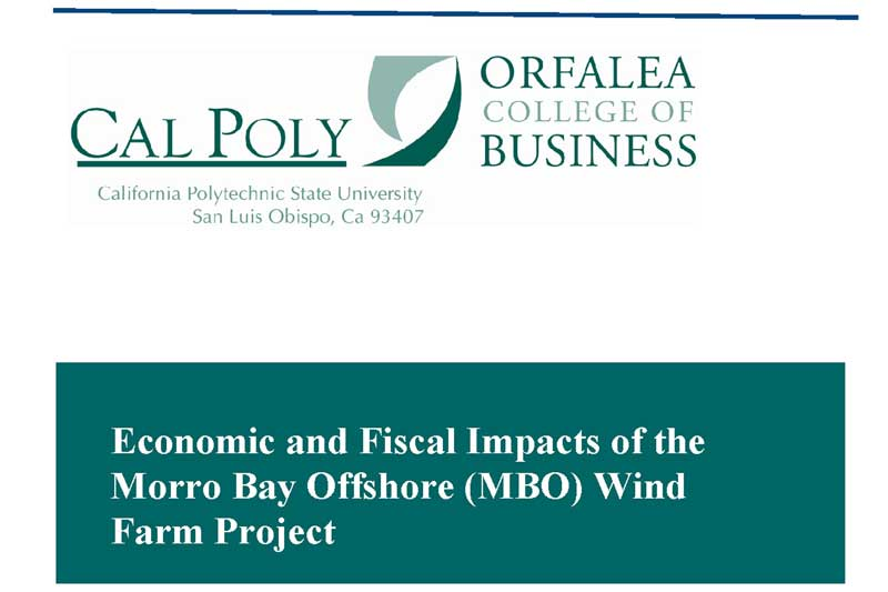 Potential Economic and Fiscal Impacts of the Castle Wind Offshore project