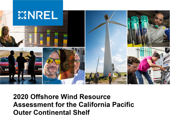 2020 OFFSHORE WIND RESOURCE ASSESSMENT FOR THE CALIFORNIA PACIFIC OUTER CONTINENTAL SHELF
