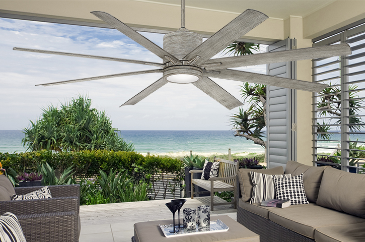 Summer With The Indoor And Outdoor Fans