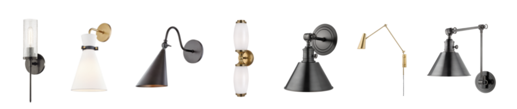 7 Wall Sconces from Hudson Valley Lighting Group