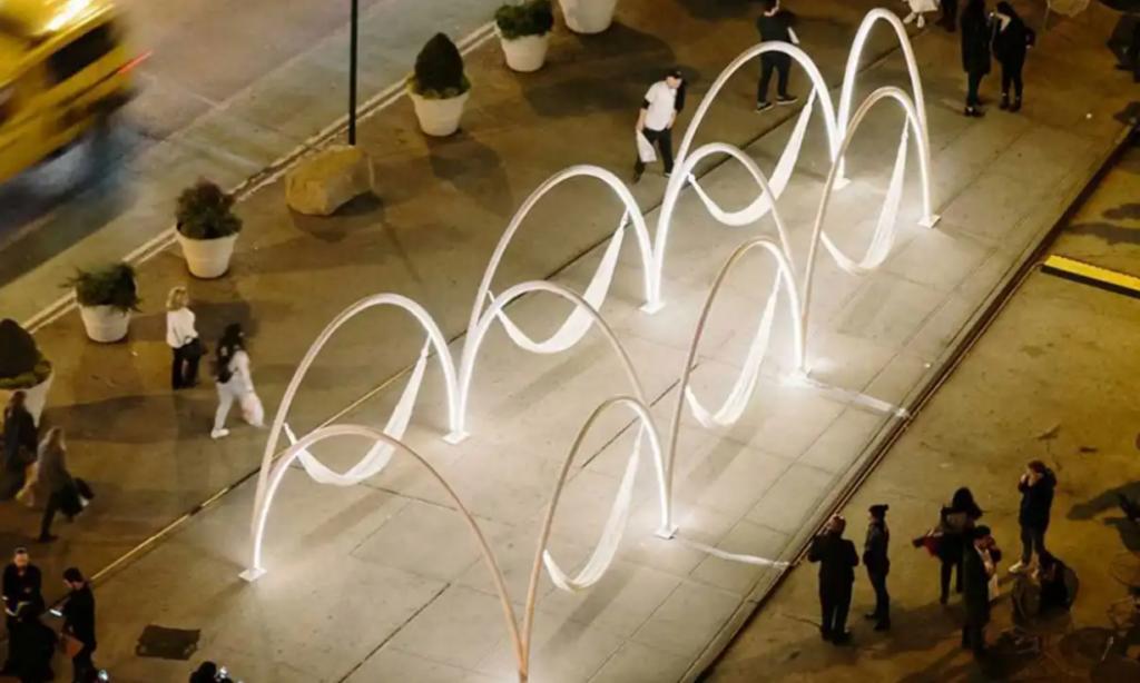 Neon Flex Art Installation