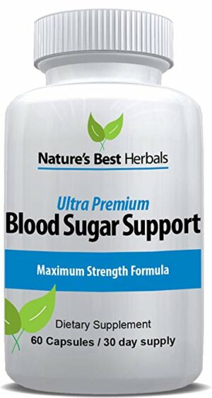 Blood Sugar Support supplement to help control blood glucose levels