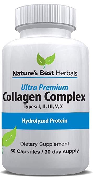 Ultra Premium Collagen Complex supplement