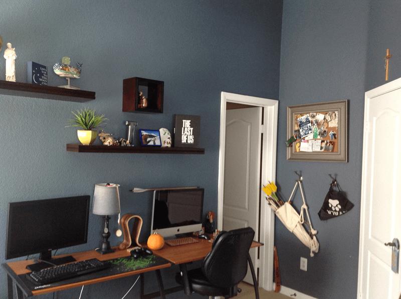 Older Brother's Bedroom Desk