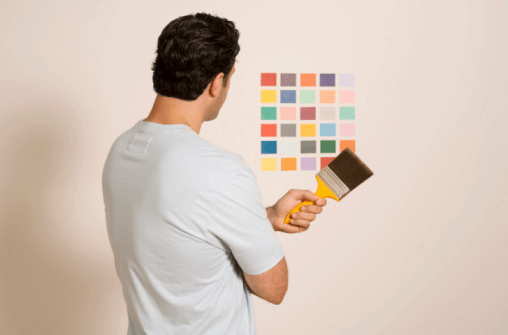 The Color Coach makes paint color selection easy.