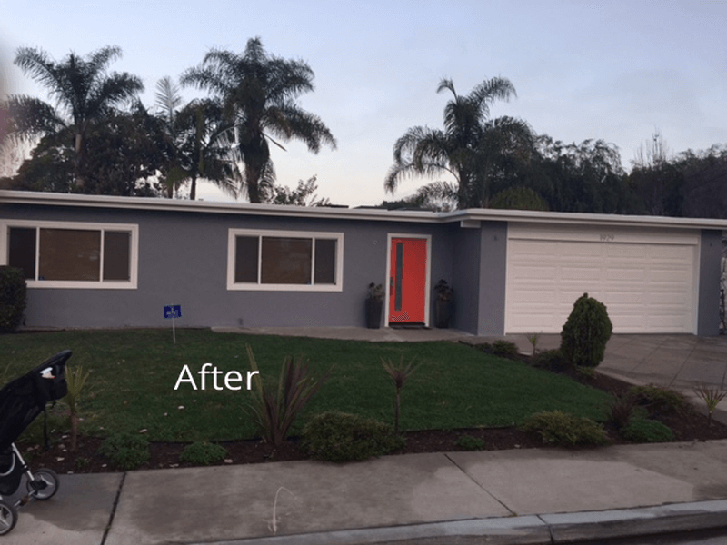 Santa Ana Ranch with Accented Front Door