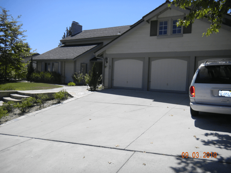 Fountain Valley 3-Car Garage with Great Accents
