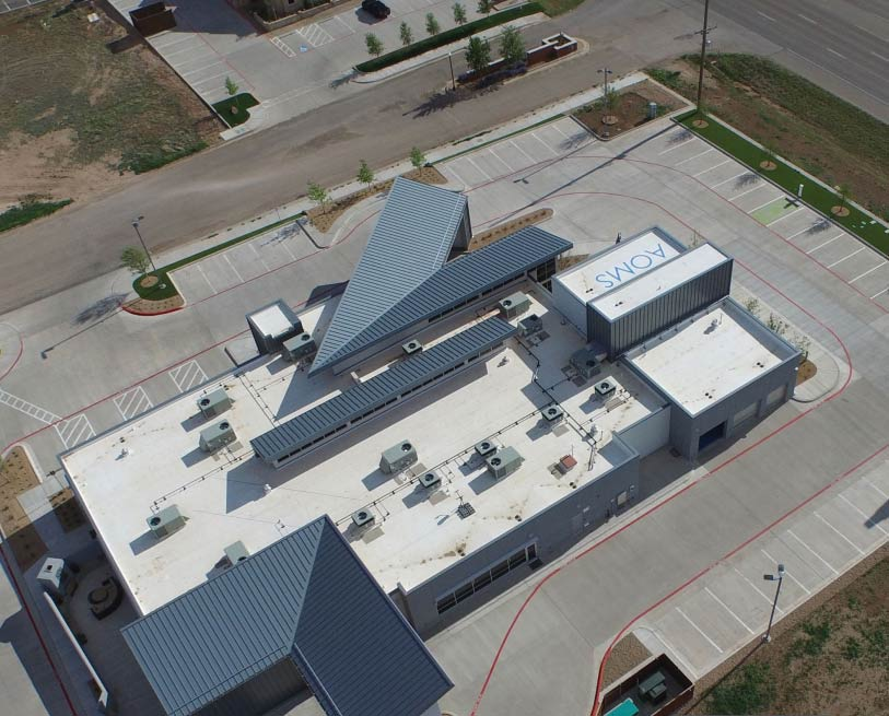 AOMS Building with EverGuard TPO roof