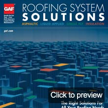 Roofing solutions brochure