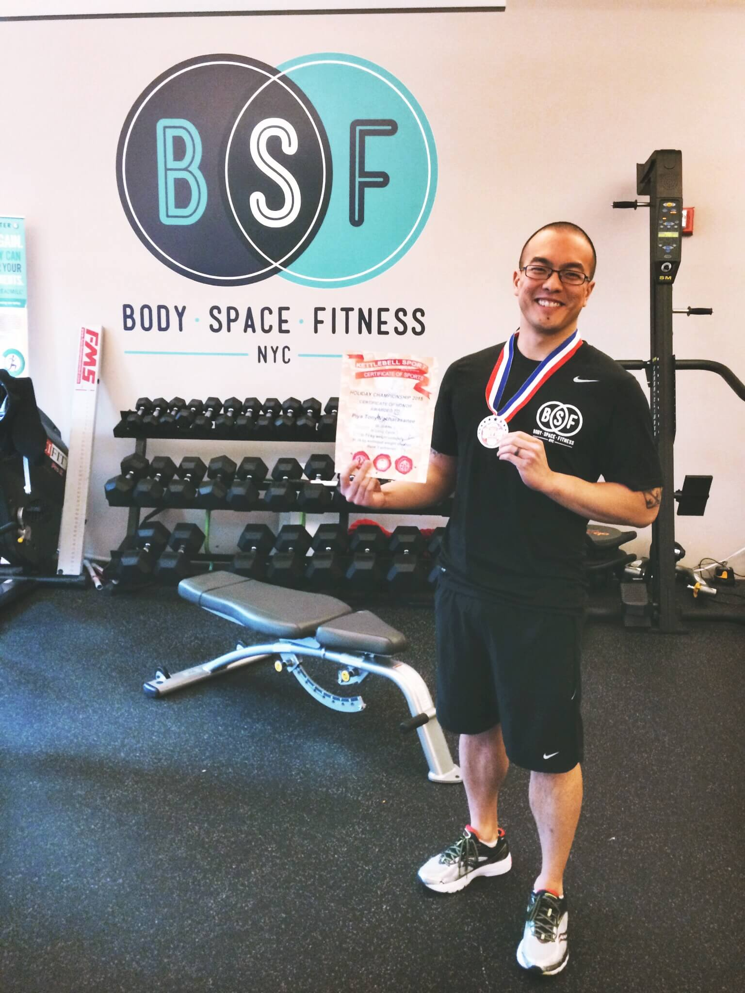 Kettlebell Sport Competition Reflection from Coach Tony