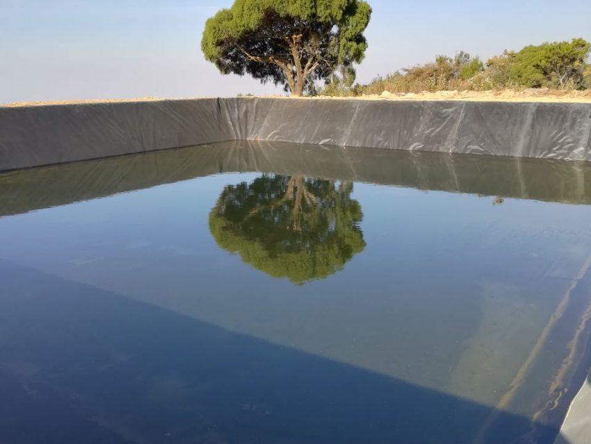 Olla de captación de agua 1