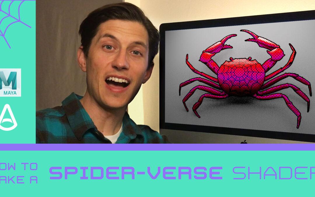 [New Class] Create a Spider-verse Shader