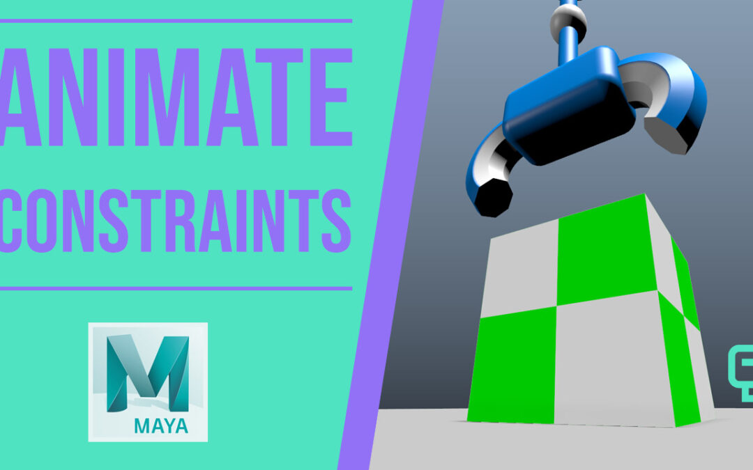 Animate Constraints In Maya Free Lesson