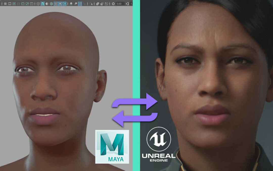 Metahuman Live Link + Maya Tutorials