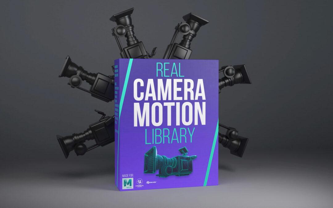 Real Camera Motion Library
