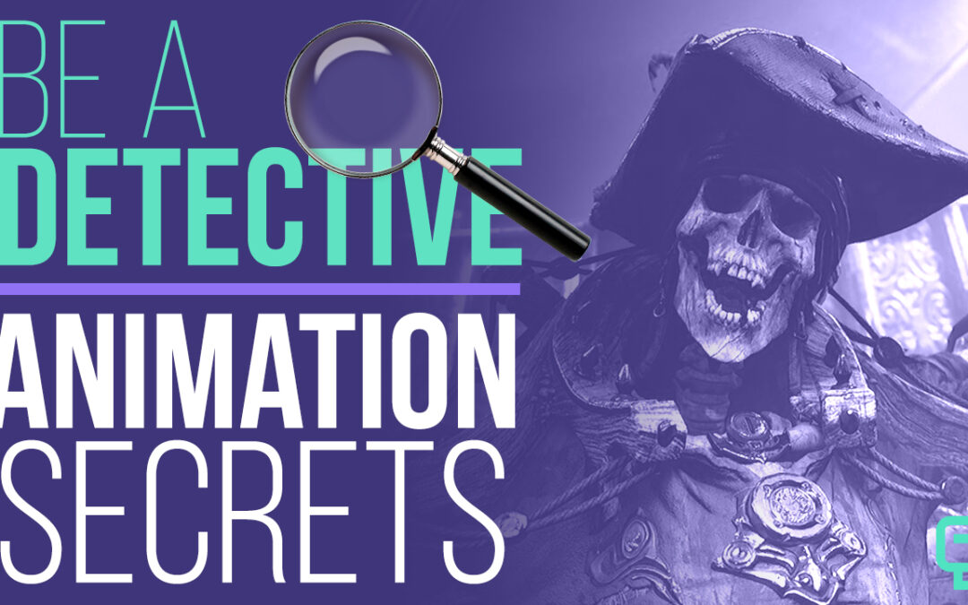 """New """"Animation Secret"""" Be A Detective"""