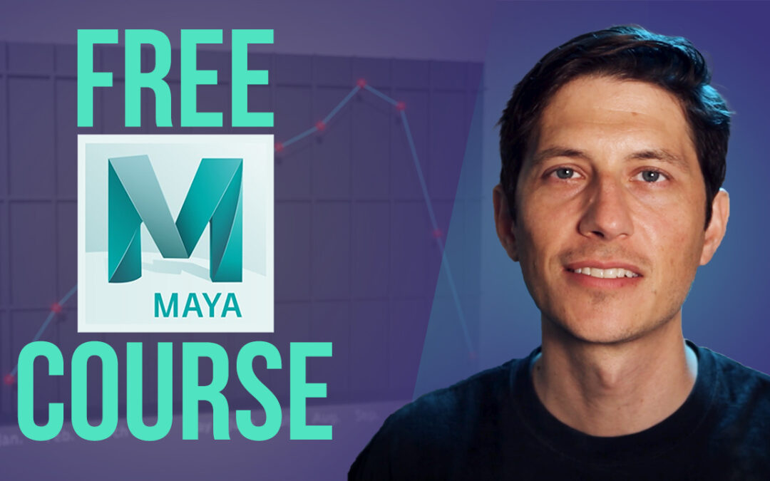 Free Maya Course – 3D Data Visualization Animation