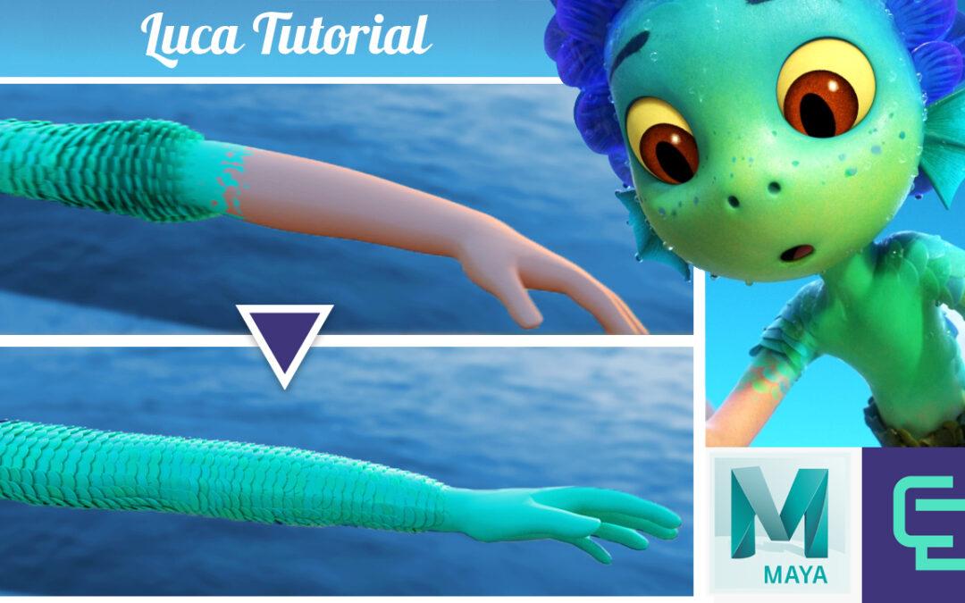 Pixar's Luca Transformation Tutorial w/ Autodesk Maya