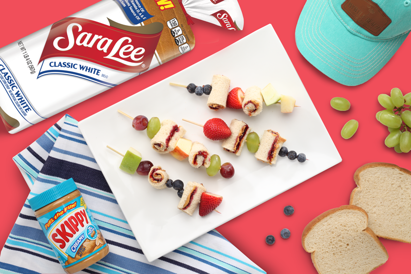Seaside Kabobs with Sara Lee® and Skippy®