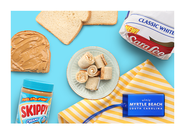 Peanut Butter SkyWheels with Sara Lee® and Skippy®