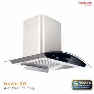 Hindware Nevio 90- Auto Clean Kitchen Chimney