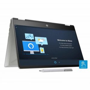HP Pavilion x360 Core i3 10th Gen 14-inch FHD Touchscreen 2-in-1 Alexa Enabled Laptop
