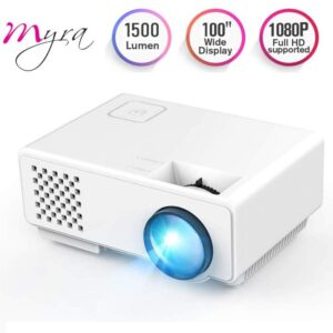 Myra Q1 Mini 1500 Lumens Home Theater LED Video Projector
