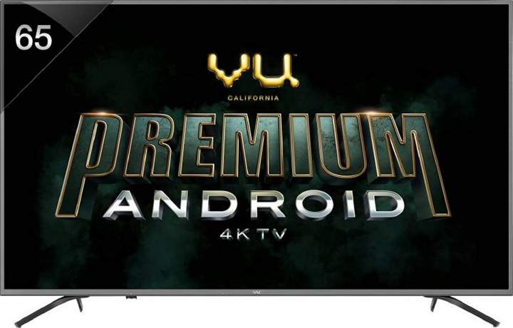 VU 163 cm 4K Ultra HD Smart LED TV