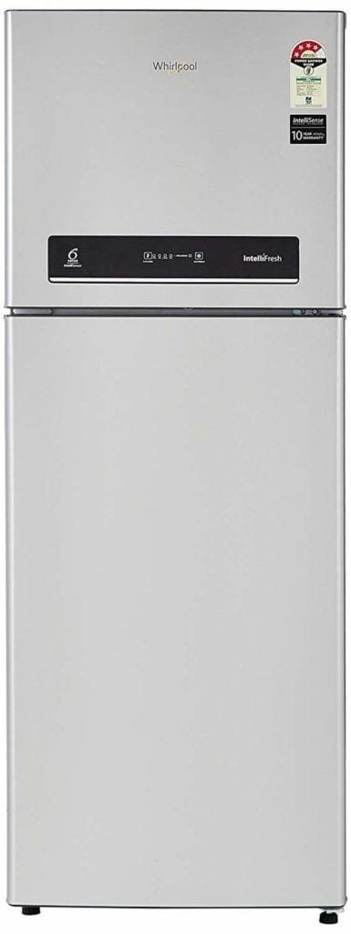 Whirlpool 265 L 4 Star Inverter Frost-Free Double-Door Refrigerator