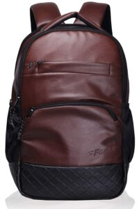 F Gear Luxur Brown 25 Litre Laptop Bag